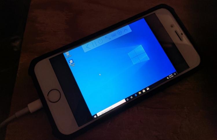 Новое приложение позволяет запустить Windows 10 на iPhone, изображение №1