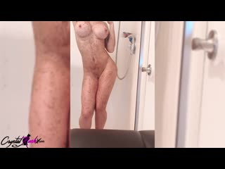 Crystal Rush Shows Striptease and Fingering Tight Pussy Closeup_Crystal Rush_1080p