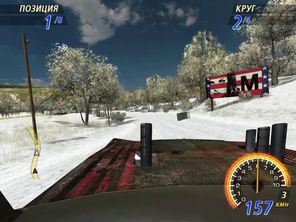 FlatOut 2 Winter Pursuit Blaster XL Farmlands 1