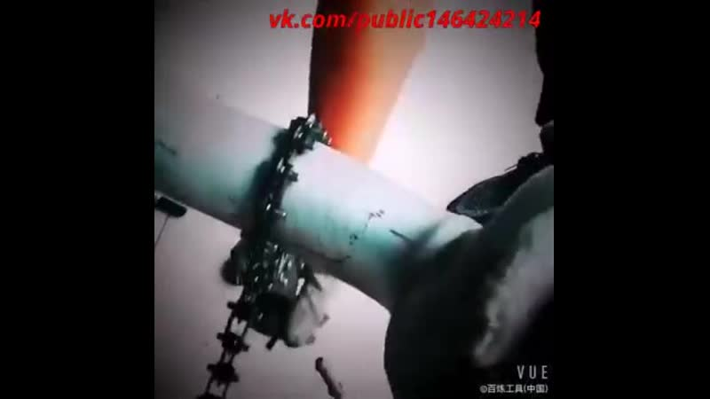 Цепной труборез для труб