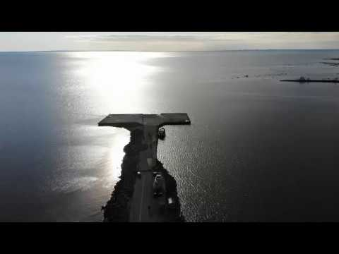 DJI mavic air Сосновый Бор Весна Андерсенград