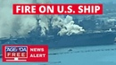 Ship Fire on USS Bonhomme Richard in San Diego - LIVE BREAKING NEWS COVERAGE