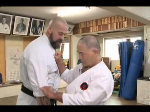 Sensei Morio Higaonna. Karate.