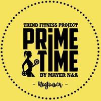 Логотип Фитнес проект PrimeTime — Подольск