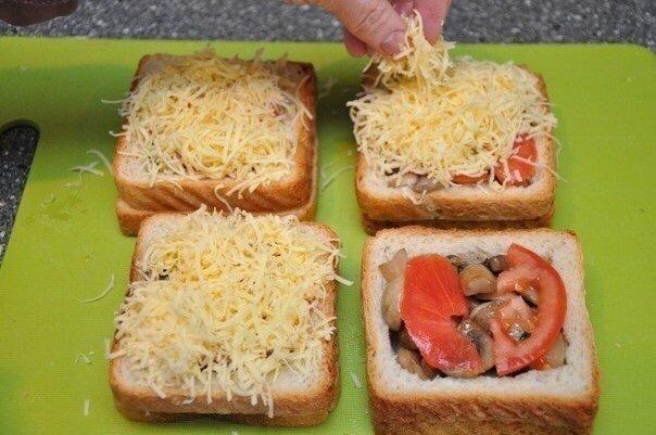 Классные и Вкусные бутерброды