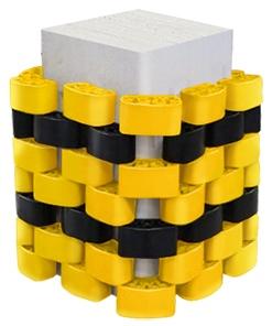 Пластиковая защита для колонн