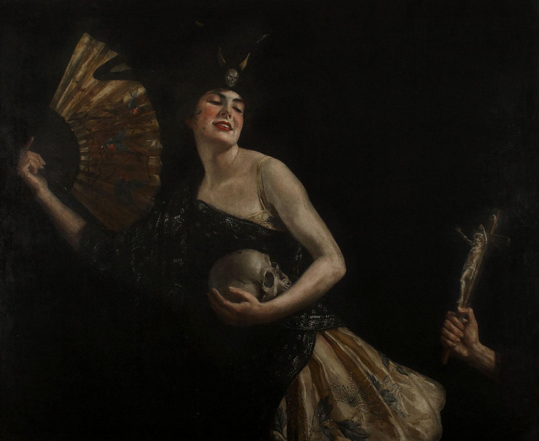 """""""Дочь дьявола"""" Маргарет Линдсей Уильямс, 1917"""