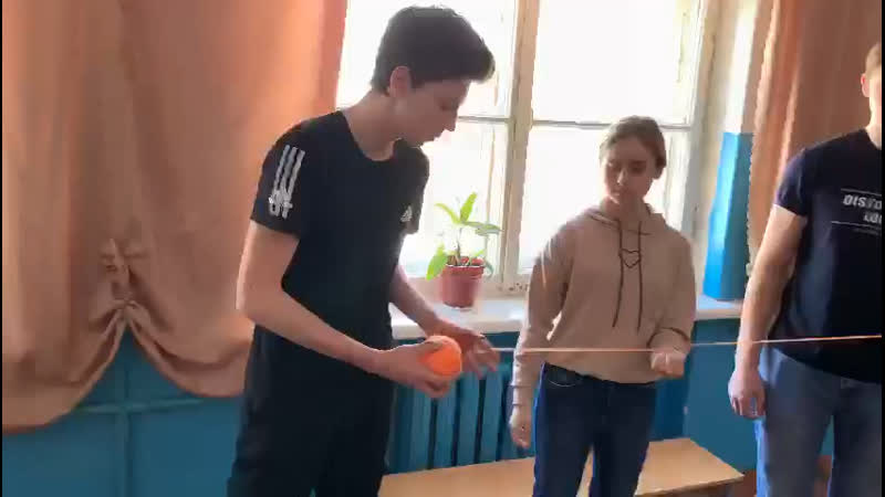 Флешмоб Паутина