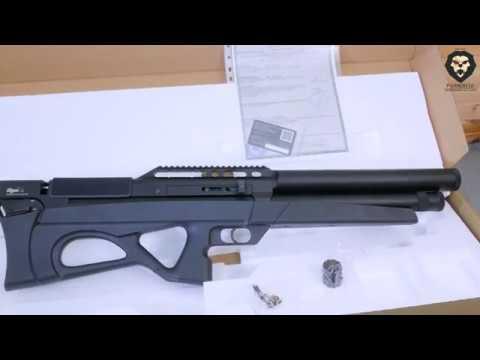 Пневматическая винтовка EDgun Матадор R5M Long 6 35 мм 590 мм пластик буллпап видео обзор 4k