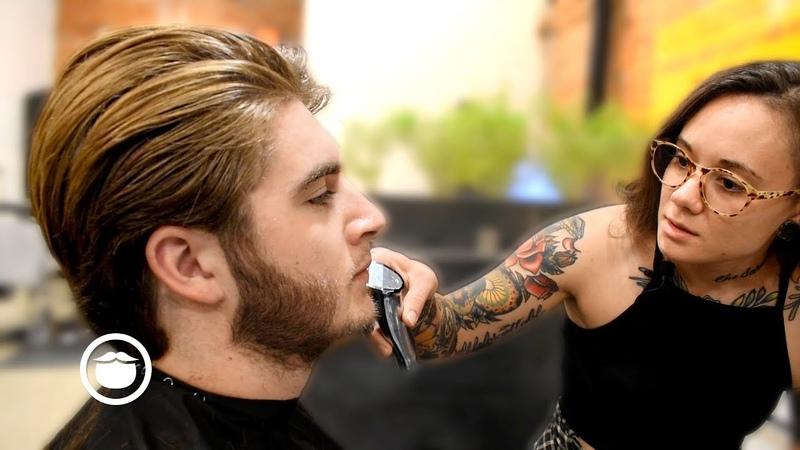 Suave Haircut for Greg Berzinsky's Son by Andy The Philadelphia Barber Co