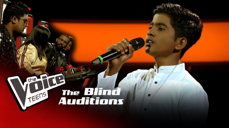 Kasun Priyamantha Suwade සුවදේ Blind Auditions The Voice Teens Sri Lanka