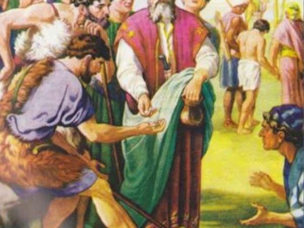 021 Книга Библейских рассказов для детей Иосиф становится рабом аудио
