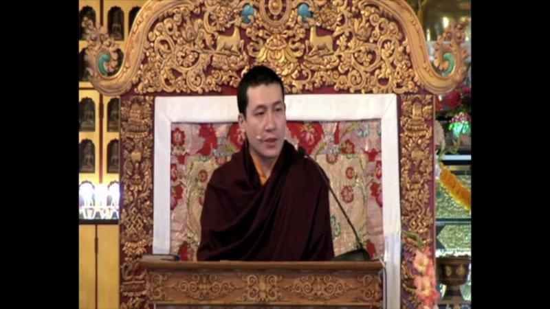Четыре печати Дхармы лекция Гьялвы Кармапы XVII 11 марта 2010 г