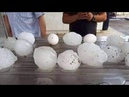 Oversized Hail storm in Valleys City, San Luis Potosi - Mexico May 17,2020