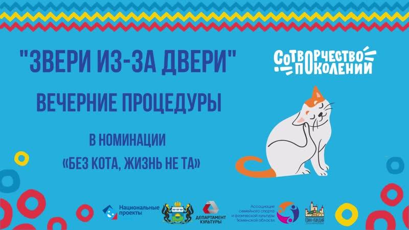 Вечерние процедуры: Сабирова Наргиза, кот Орси