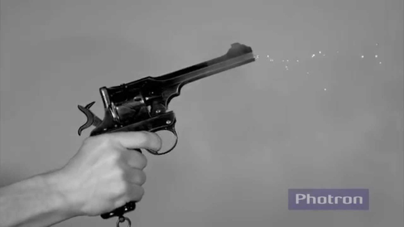 Firearm Demonstration Webley Fosbery Automatic Revolver