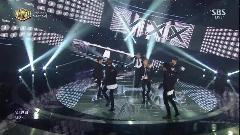 VIXX - Black Out (Inkigayo 20170521)