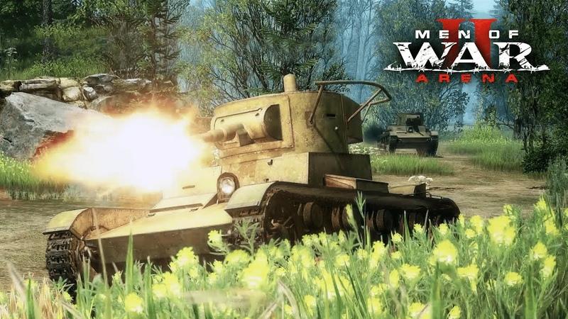 Men of War II: Arena. Анонсирующий трейлер
