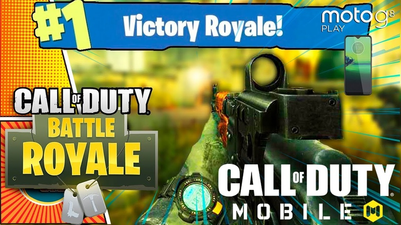 Call of Duty BATTLE ROYALE MOBILE GAMEPLAY! - THIS COULD BE THE FUTURE! MotoG8PLAY (iOS, Android)
