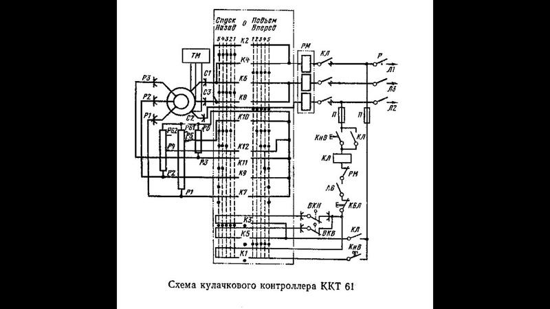 Крановый контроллер ККТ 61 Ремонт гребёнки