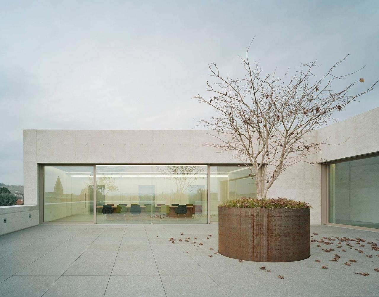 The Little Dark One Greiner Headquarters inPleidelsheim, Germany by f m b architekten - Norman Binder, Andreas-Thomas Mayer