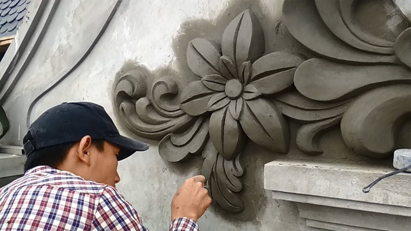 How To Beautify Your Home Sand And Cement Materials Needed In Decoration