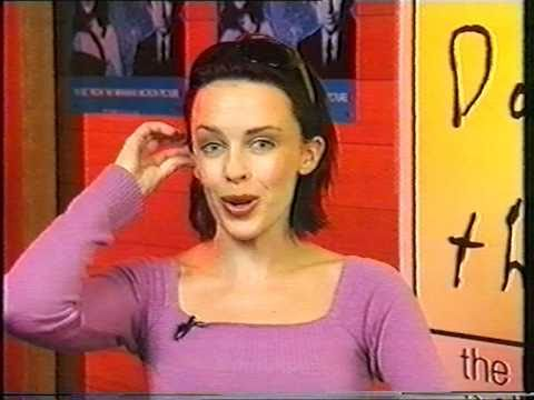 Kylie Minogue Interview Video Hits 100th Show OZ 1999