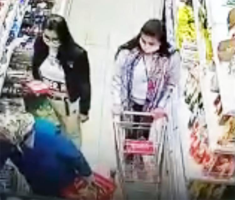 Одну из двух девушек, совершивших преступление и попавших на камеру  видеонаблюдения в Магните, задержали