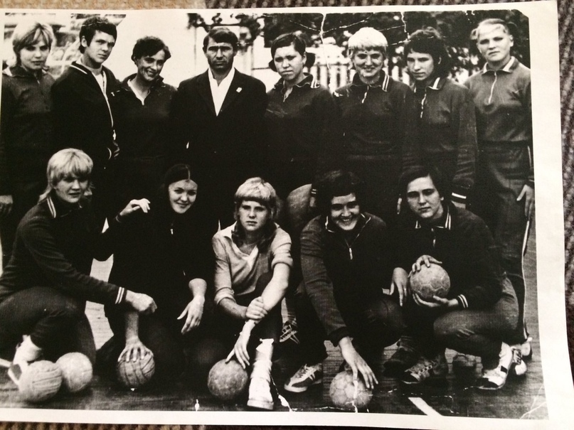 Команда Цветмет. Краснодар 1973 г.