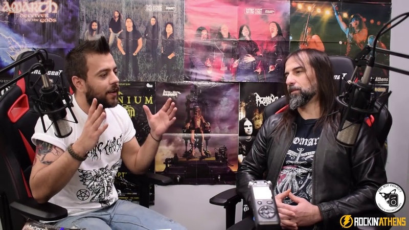 Interview With Sakis Tolis Rotting Christ by Rockin'Athens with russian subtitles