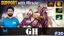 GH - Keeper of the Light Safelane SUPPORT with Miracle Ember Dota 2 Pro MMR Gameplay 20