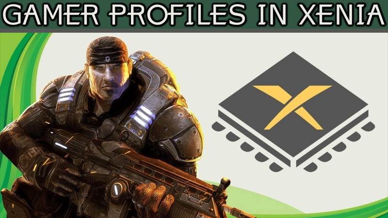 How To Setup And Use Gamer Profiles In Xenia