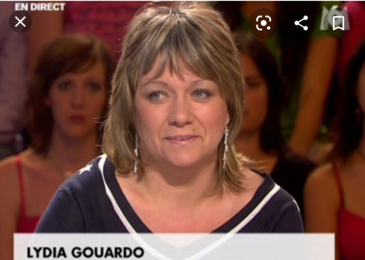 Лидия Гуардо на съемках передачи