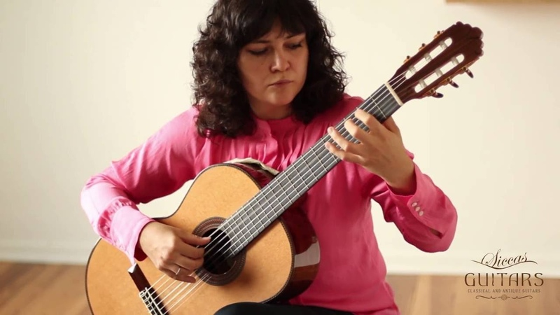 Irina Kulikova plays Courante from the Cello Suite No 1 by J S Bach on a Altamira L'Orfeo