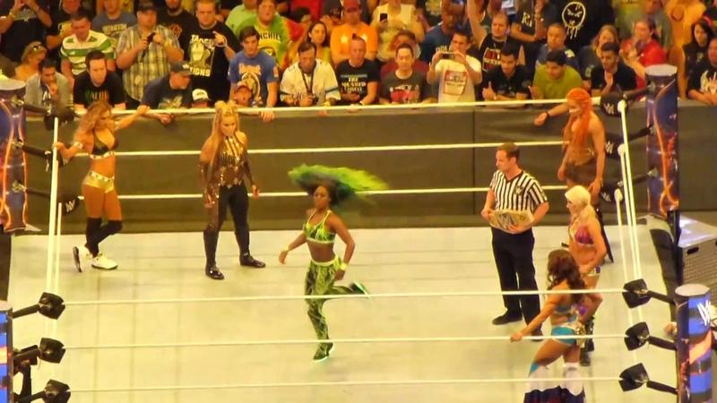 Naomi vs Alexa Bliss vs Becky Lynch vs Carmella vs Mickie James vs Natalya at Wrestlemania 33