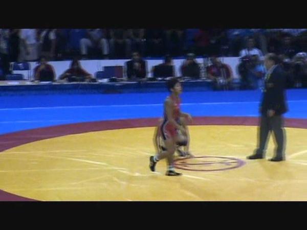 Панамериканские игры 2011. Вольная борьба. Женщины (-48). Финал. Кэрол Хьюн (Канада) - Кларисса Чун (США)