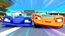 Машинки для мальчиков. Супер РАЛЛИ. Гоночные машины попали в аварию на трассе!
