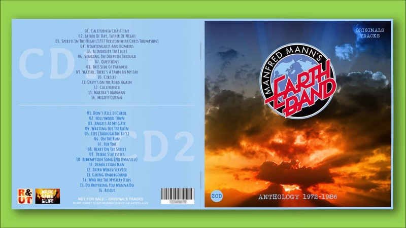 Manfred Mann's Earth Band Anthology 1972 1986 By R UT