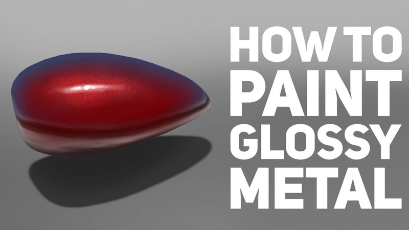 How to Paint Glossy Metal