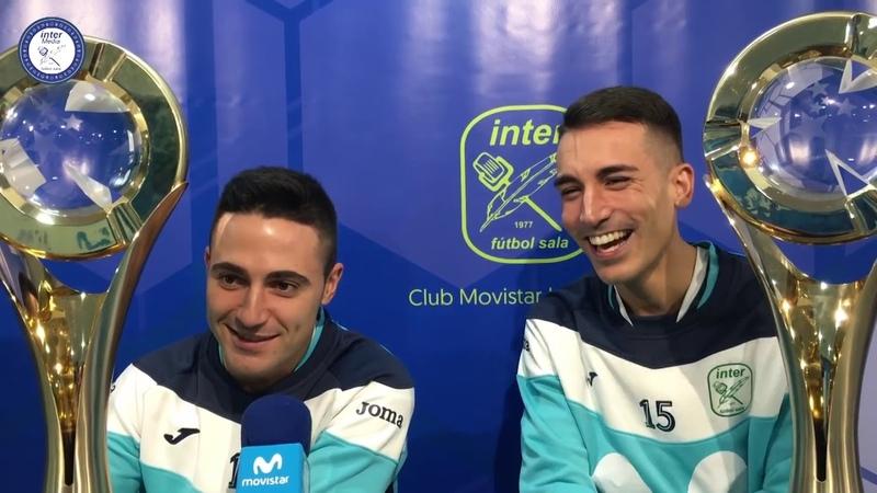 La trayectoria de Borja en Movistar Inter FS desde su llegada al Club