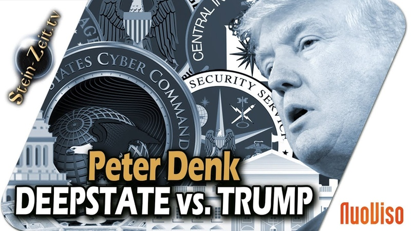 Deep State vs Trump Die Masken Fallen Peter Denk bei SteinZeit