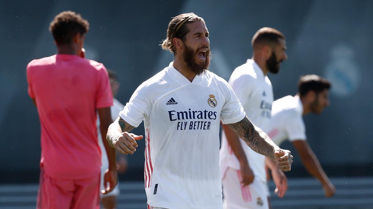 Серхио Рамос. ФК Реал Мадрид
