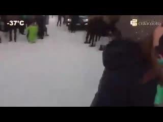 Что творится зимой в Красноярске - xnj ndjhbncz pbvjq d rhfcyjzhcrt -