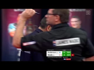 Gary Anderson vs James Wade (PDC World Matchplay 2020 / Round 2)