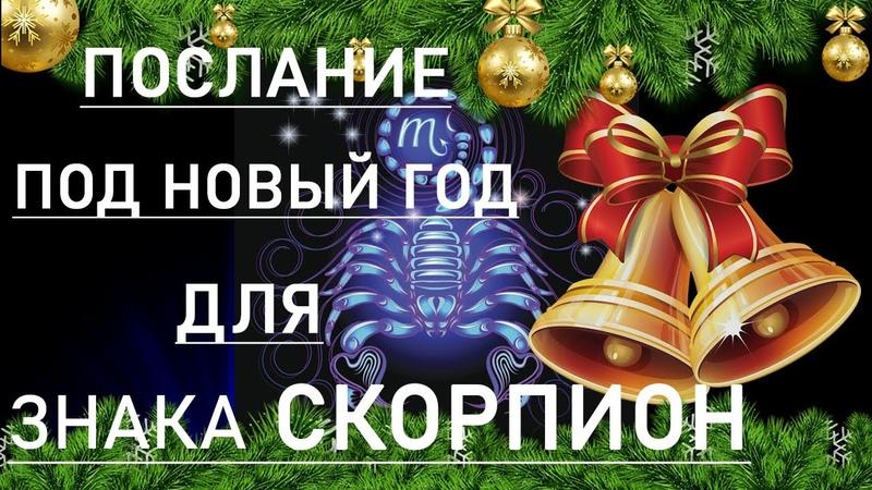 ПОСЛАНИЕ ПОД НОВЫЙ ГОД ДЛЯ ЗНАКА СКОРПИОН ТАРО ОНЛАЙН