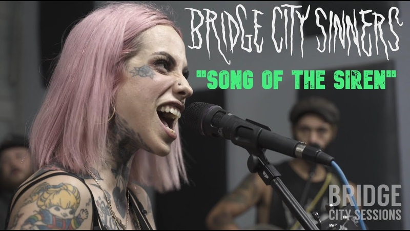 Bridge City Sinners - Song of the Siren Live Video Session