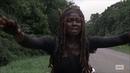 The Walking Dead 10x13 Michonnes hallucinations Comparison