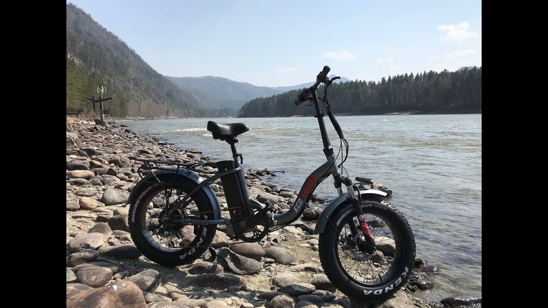 Измеряем запас хода электро фэтбайка Eco Drive V6 на Горном Алтае. Электровелосипед от Eco Koleso.