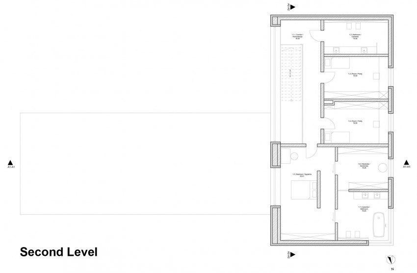 Проект дома площадью 350 кв.