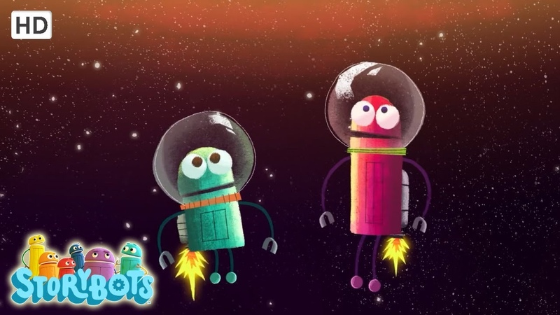 🌟 Storybots Christmas 🌟 Learn Planet Names With Music 🌟 Song Kids Under 6 Year Olds
